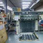 The hungry mouth of a Mobineko workhorse - the Komori Lithrone